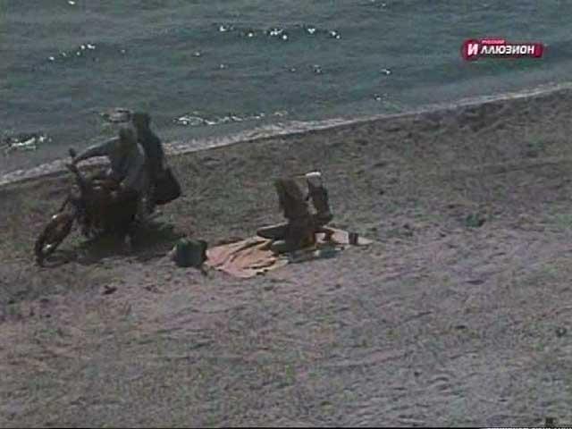 Сцена из русского фильма с Еленой Внуковой