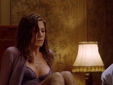 Сцена с участием Джениффер Энистон.