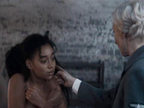 Черная девушка в нациском лагере
