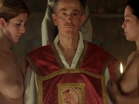 Ритуальная демоническая церемония с принудительным сексом