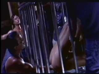 Связанный муж смотрит как трое мужиков как насилуют его жену.