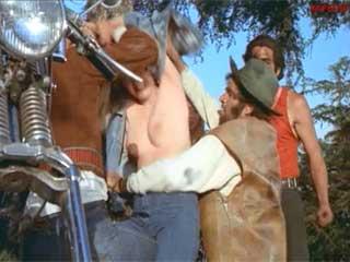 Умственно отсталый байкер набросился и взял женщину силой