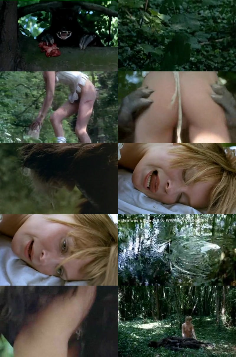 Старый порно фильм оборотень трахает девушку