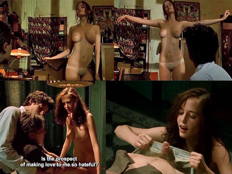 интимные сцены с ева грин