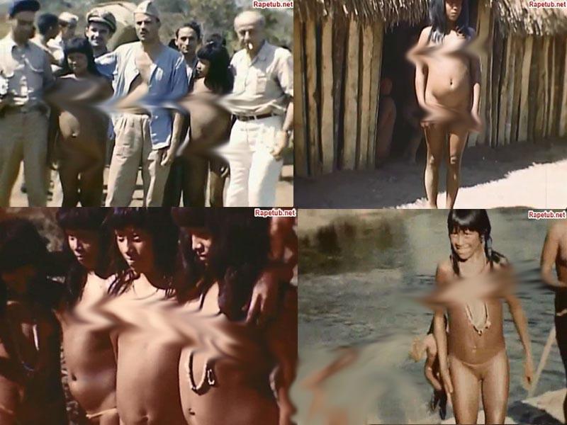 Порно голых индейцев, как делают татуировки видео